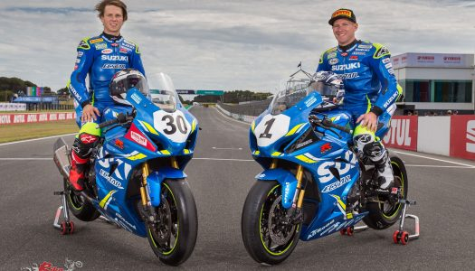 Team Suzuki ECSTAR Australia ready for ASBK Rnd1