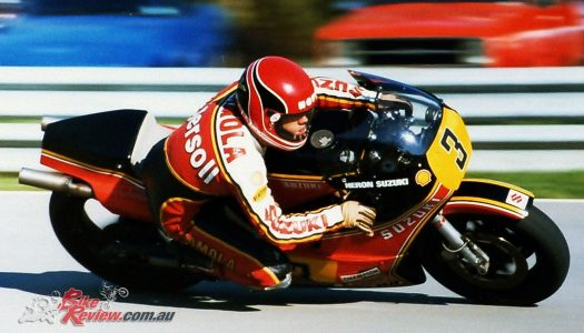 Randy Mamola to become a MotoGP Legend