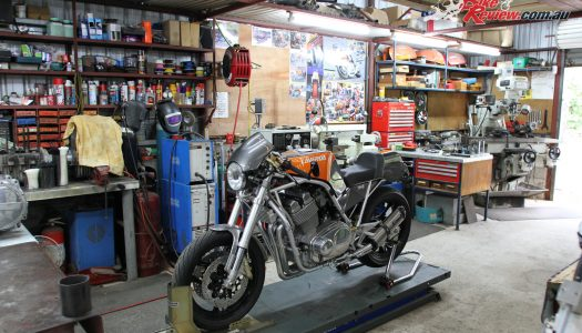 Aussie Workshop: Redax Laverda