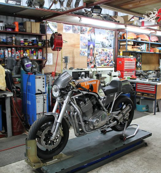 Redax Laverda Workshop