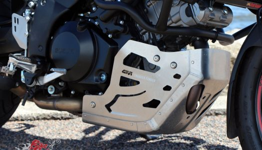 Staff Bike: V-Strom 1000 Givi Accessories