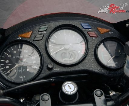 Yamaha RZ350 instruments