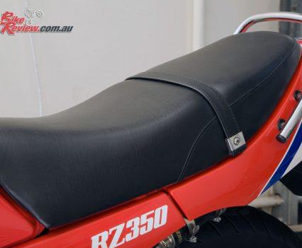 Yamaha RZ350 seat