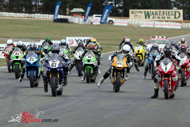 ASBK returns to Wakefield Park for Round 2