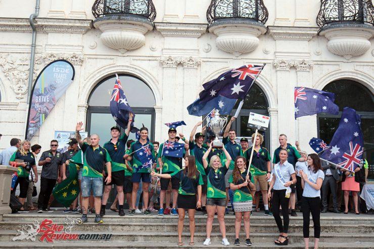 Australia's past ISDE Team