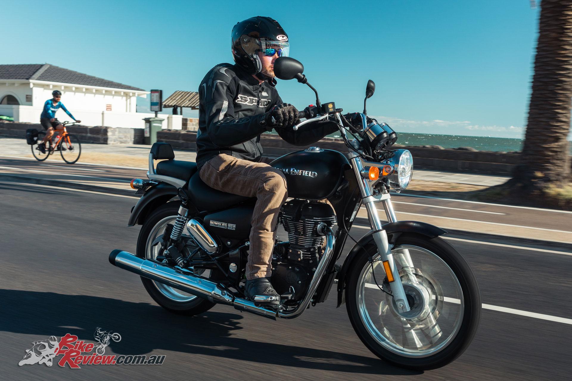 Review 2018 Royal Enfield Rumbler 350 Lams Bike Review