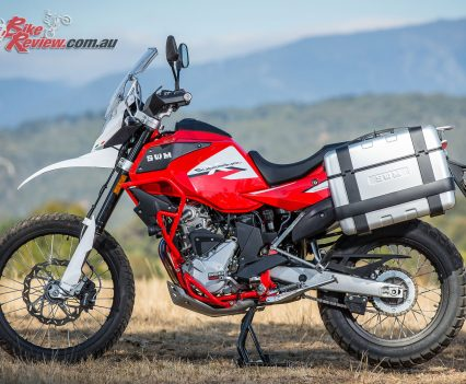 Australian 2018 SWM Superdual X Launch - Mount Buller - Bike Review - With Givi panniers fitted