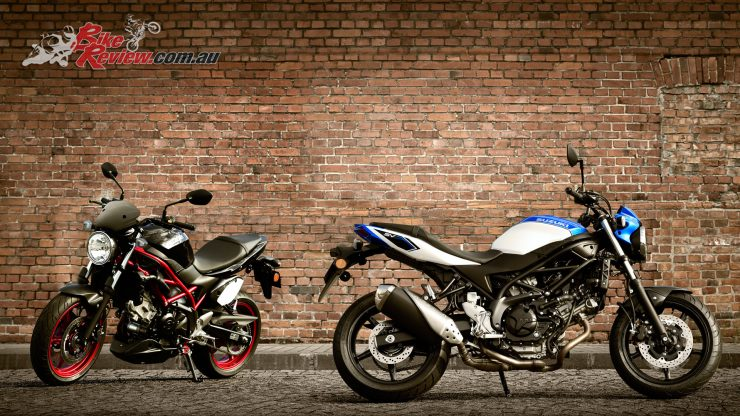 Suzuki's 2018 SV650s will arrive in dealers in April in both LAMS and full power versions