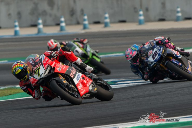 Davies and Rea took the race wins in Thailand