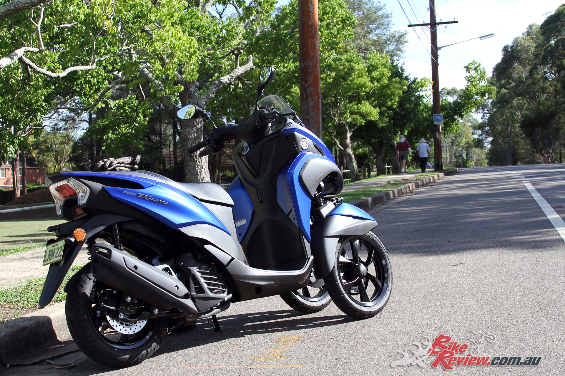 Video Review 2018 Yamaha Tricity 155 Scooter Bike Review