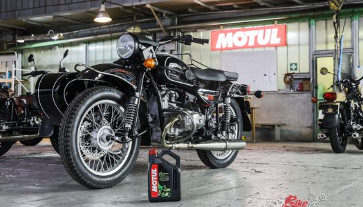 Motul partners sidecar bike manufacturer Ural