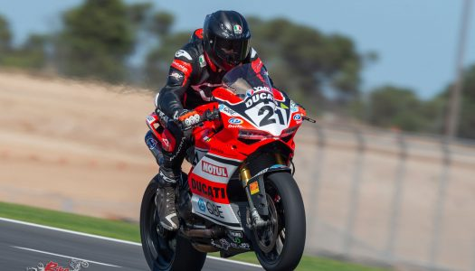 Bayliss tops ASBK Practice at The Bend