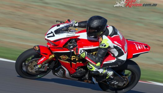 Herfoss fastest after The Bend ASBK Test Day 1
