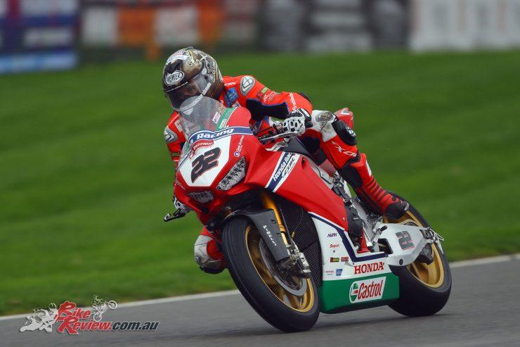 Jason O'Halloran at Brands Hatch