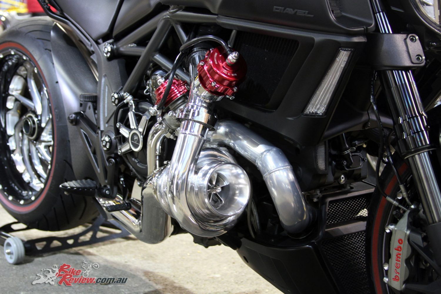 Turbo charged Ducati Diavel