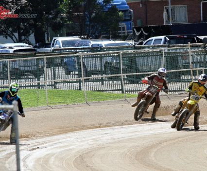 Flat track demonstrations - 2018 Bankstown Custom Motorcycle Show