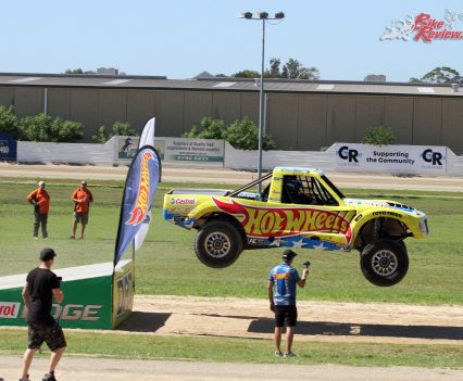 Hot Wheels Stuntz Inc Jump Trucks - 2018 Bankstown Custom Motorcycle Show