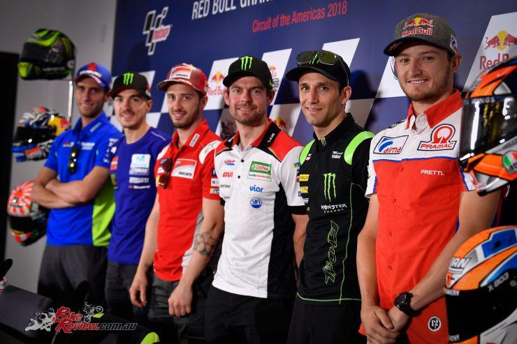 The pre-Texas MotoGP conference