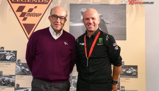 Randy Mamola becomes a MotoGP Legend