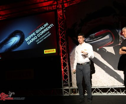 Pirelli Diablo Rosso Corsa II Launch - South Africa - Tyre presentation