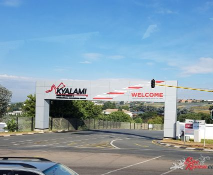 Pirelli Diablo Rosso Corsa II Launch - South Africa - Arriving at the Kyalami Circuit