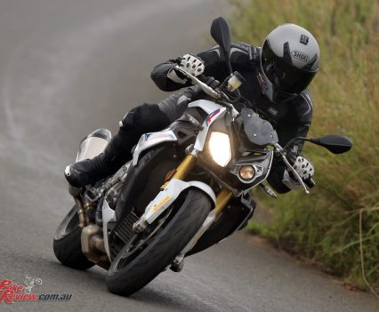 The S 1000 R on the road on DRC II.