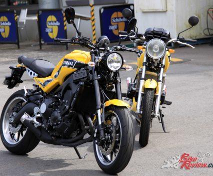 Yamaha XSR900 'RD900LC & 1981 RD350LC
