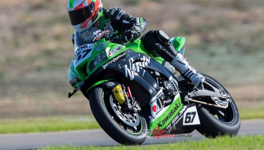 Kawasaki Racing Wrap from The Bend ASBK Round 3