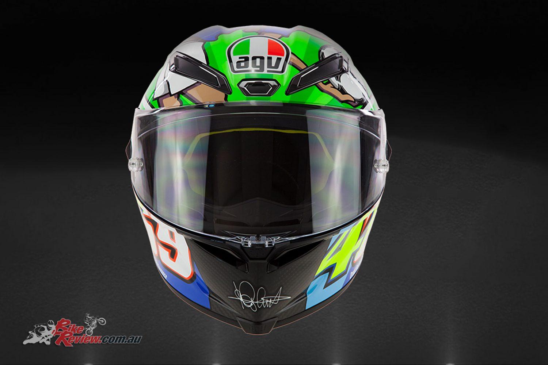 AGV Pista GP R Limited Edition Rossi Mugello