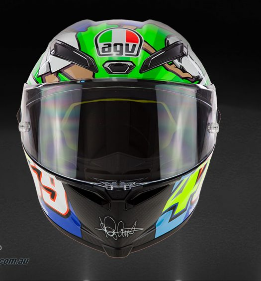 AGV Pista GP R Limited Edition Rossi Mugello