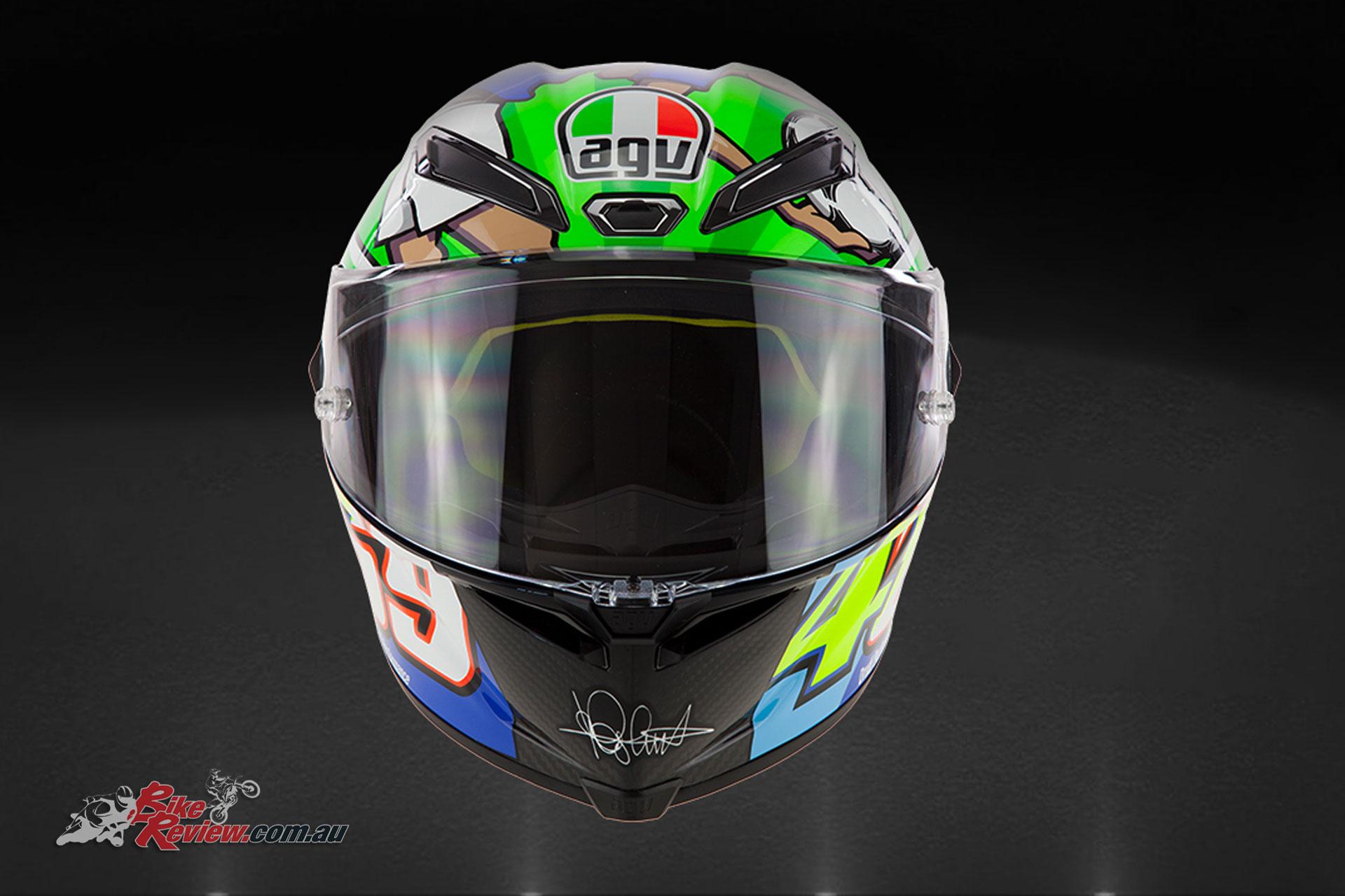New Product Agv Pista Gp R Le Rossi Mugello Bike Review