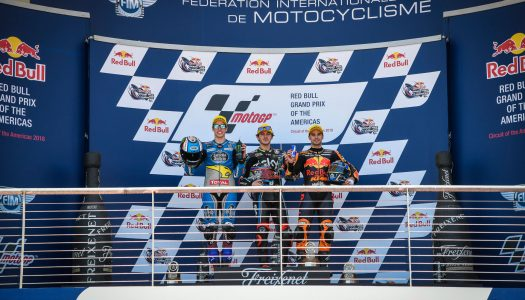 Moto2: Bagnaia Takes Victory at COTA 2018