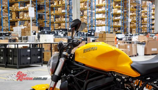 Ducati and Lamborghini logistics hub goes live