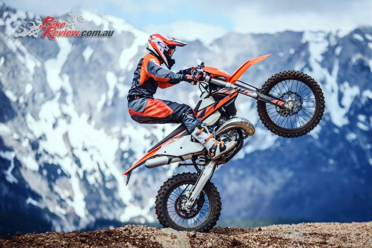 Only KTM's TPI EXC models to be available in 2019