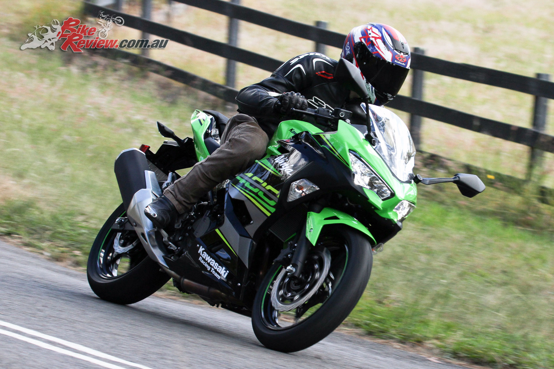 review 2018 kawasaki ninja 400 lams road test bike review. Black Bedroom Furniture Sets. Home Design Ideas