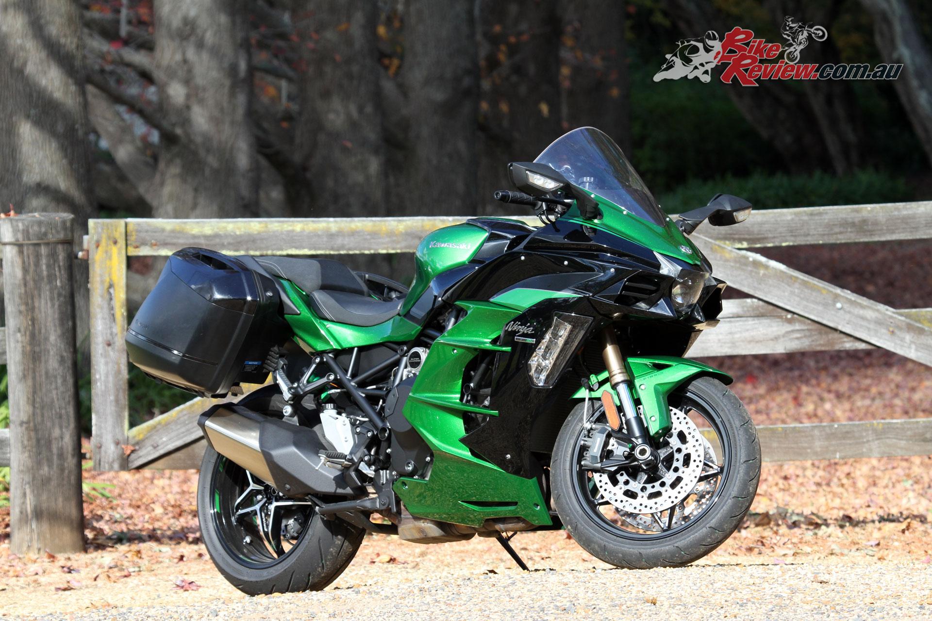 Review 2018 Kawasaki Ninja H2 Sx Se Bike Review