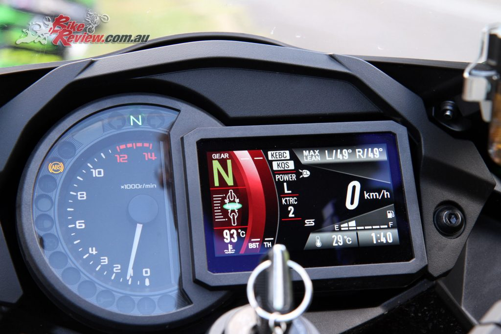 The Ninja SX SE dash does everything but heat your lunch up but I'm sure that will come one day!
