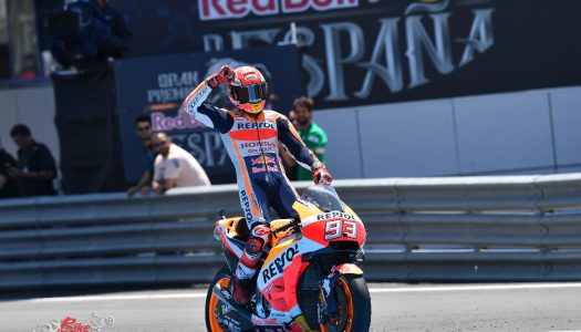 Marquez wins Jerez as contenders crash out