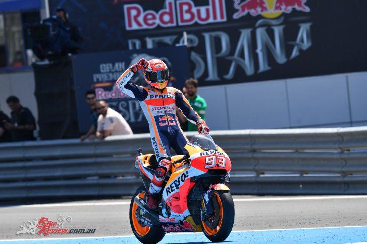 Marquez dominates at Jerez