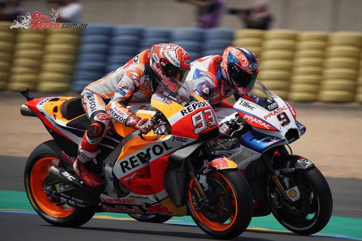 Marquez and Petrucci