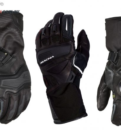 Macna's 2018 Winter range of gloves is now available