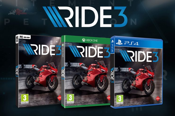 RIDE 3 arrives in November, 2018