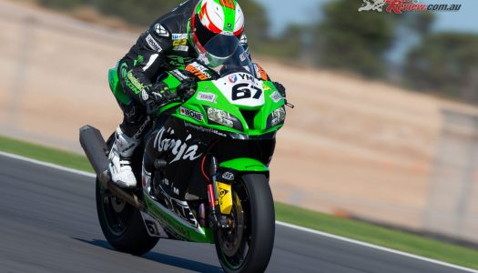 Bryan Staring sets sights on Hidden Valley ASBK
