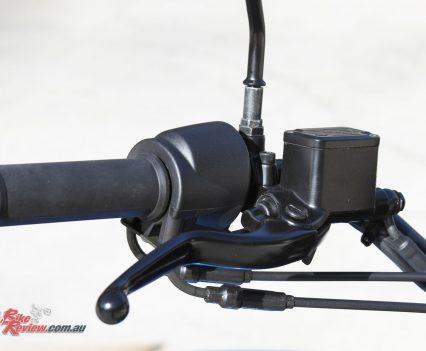 2018 Harley-Davidson Street 500 - Brake lever and master-cylinder