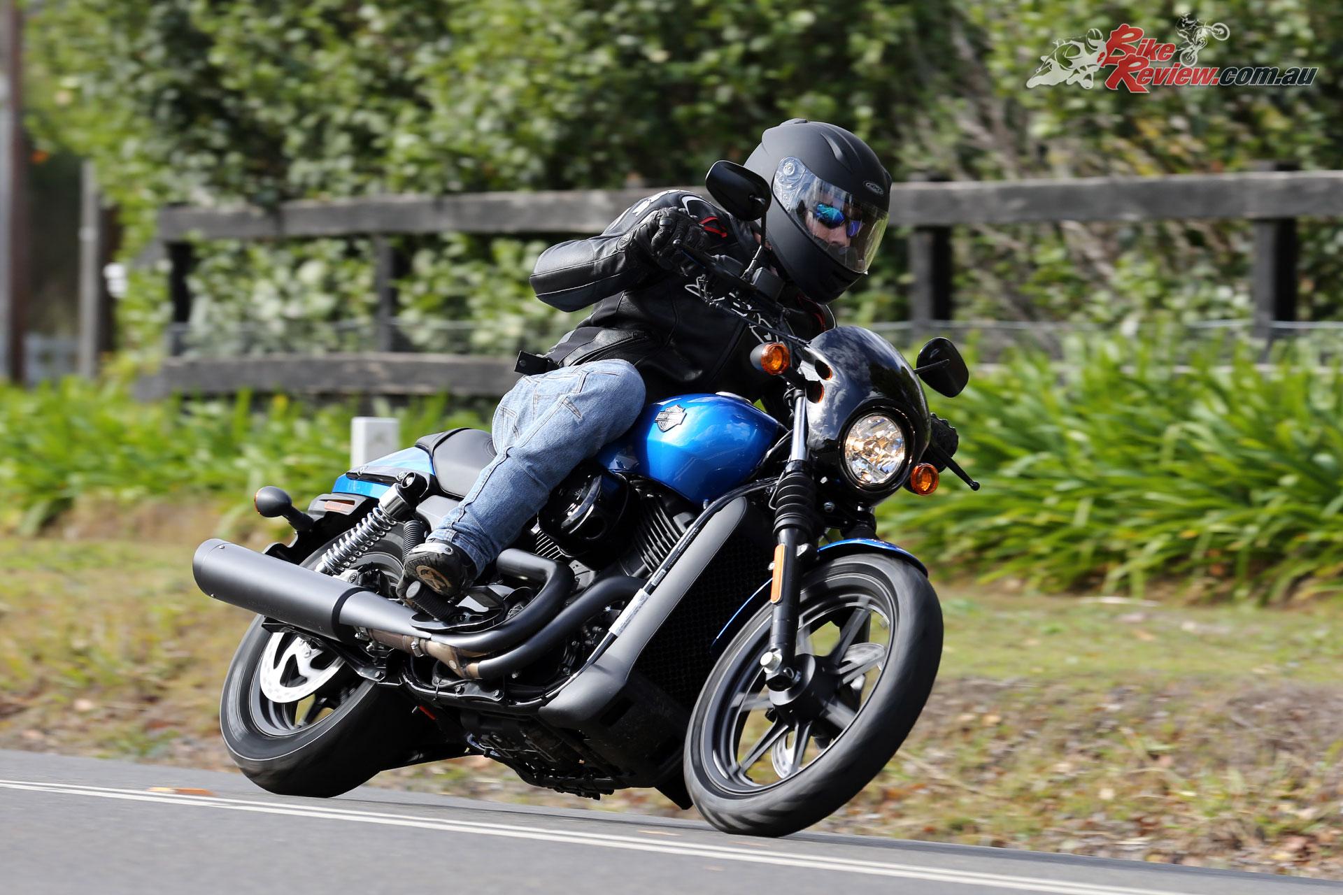 Harley-Davidson's Street 500 LAMS machine