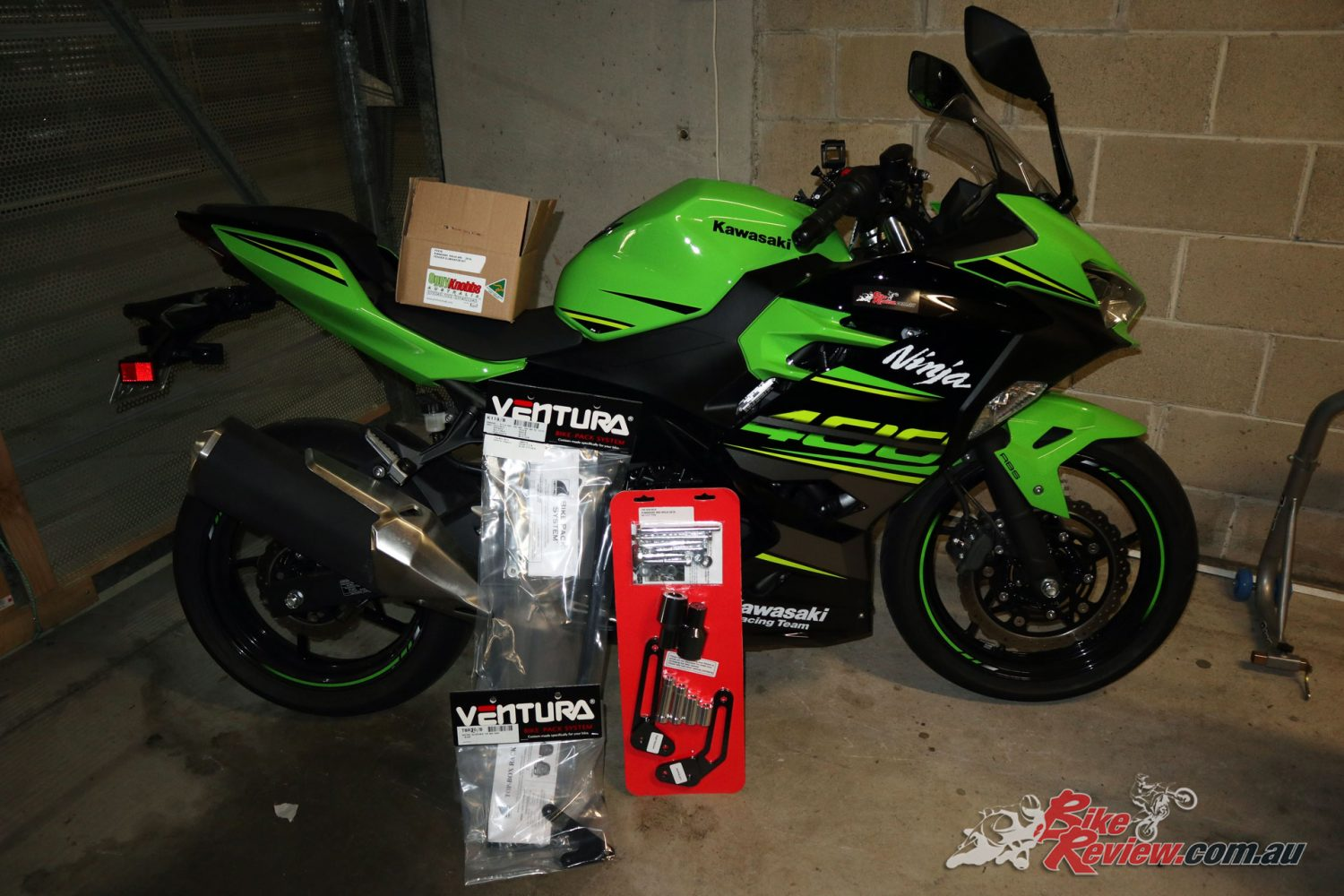 We've had a bunch of accessories arrive from Kenma Australia for our Long Term Ninja 400!