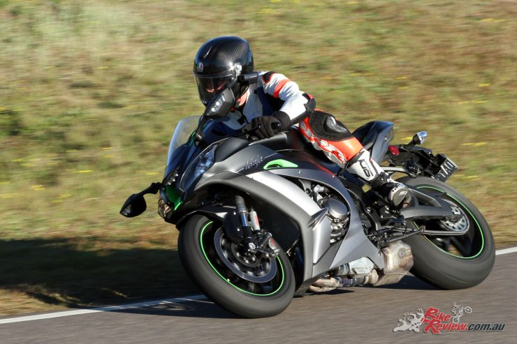Kawasaki Team Green Australia Track Day