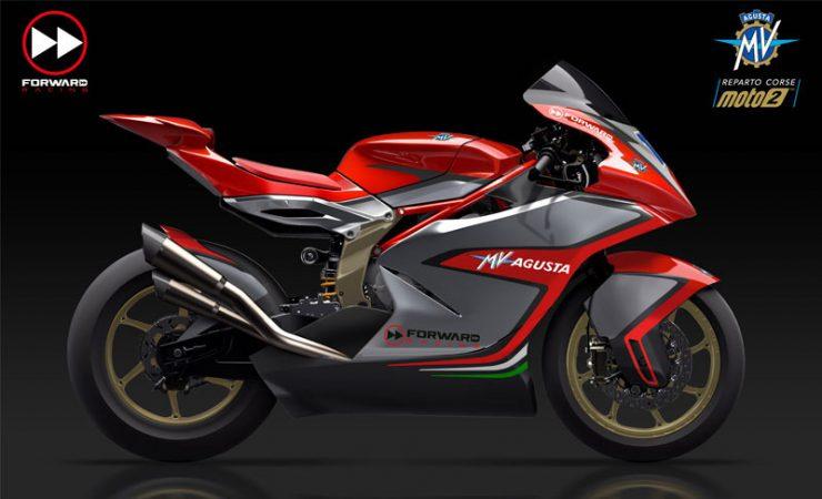 MV Agusta's Moto2 machine