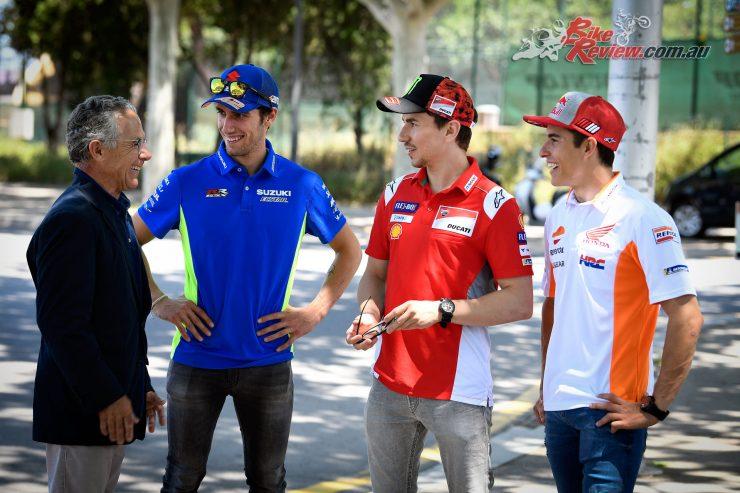 Canellas, Rins, Lorenzo & Marquez