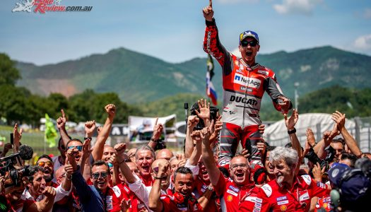 Jorge Lorenzo leads Ducati 1-2 at Mugello MotoGP